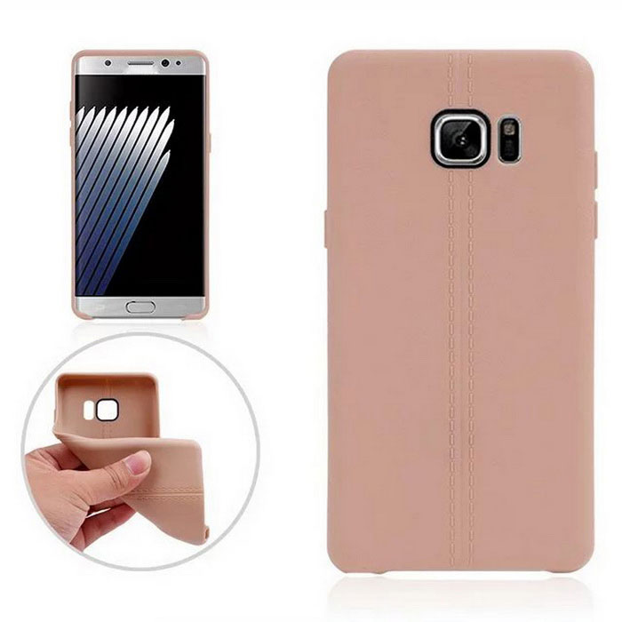 TPU Protective Back Case Cover for Samsung Galaxy Note 7 - Brown