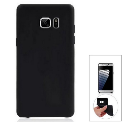 Protective Back Case Cover for Samsung Galaxy Note 7 - Black