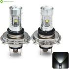SENCART H4 P43T LED Cold White Light Bulb for Car Fog Lamps (2 PCS)