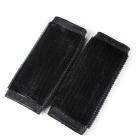 Electric Motorcycle Rider Non-slip Rubber Handlebar Covers - Black