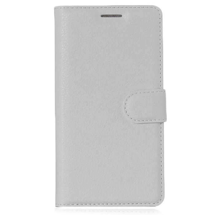 PU Leather Wallet Cases w/ Card Slots for Xiaomi Redmi 3 - White