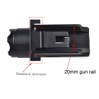 RichFire SF-P21 LED 20mm Tactical Gun Rail Flashlight - Black