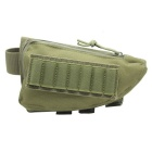 Tactical Rifle Shotgun Buttstock Bullet Bag - Army Green