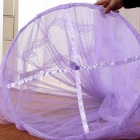 Dome Ceiling Mosquito Net / Bed Curtain - Purple