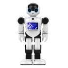 Entertainment Dancing Voice Control Intelligent Robot - White + Black