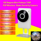 185 'Рыбий 1.0MP Сеть Wi-Fi камера с Home Security (ЕС Plug)