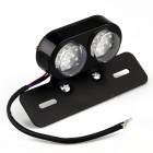QooK Scooter Motorrad Bike ATV Hinten Hinten End Bremse Red Light Lampe