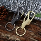 Zinc Alloy Keychain with Ring - Random Color (2pcs)