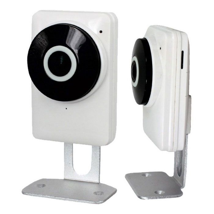 185 Degree 1.0MP Network Wi-Fi Camera with Home Security (UK Plug)IP Cameras<br>Form  ColorWhitePower AdapterUK PlugModelST-4D10185CIRWKMaterialPVCQuantity1 DX.PCM.Model.AttributeModel.UnitImage SensorCMOSImage Sensor SizeOthers,1/4 InchPixels1280X720(1.0MP)LensOthers,1.44mmViewing AngleOthers,185 DX.PCM.Model.AttributeModel.UnitVideo Compressed FormatH.264Picture Resolution720PFrame Rate25Input/Output1 CHAudio Compression FormatAACMinimum Illumination0.1 DX.PCM.Model.AttributeModel.UnitNight VisionYesIR-LED Quantity6Night Vision Distance10 DX.PCM.Model.AttributeModel.UnitWireless / WiFi802.11 b / g / nNetwork ProtocolTCP,IP,UDP,HTTP,SMTP,FTP,DHCP,DDNS,PPPoESupported SystemsOthersSupported BrowserOthersSIM Card SlotNoOnline Visitor3IP ModePPPoEMobile Phone PlatformAndroid,iOSFree DDNSYesIR-CUTYesBuilt-in Memory / RAMNoLocal MemoryYesMemory CardMicro SD/TF cardMax. Memory Supported128GBMotorNoRotation Angle360Zoom3Supported LanguagesEnglish,Simplified ChineseWater-proofNoRate VoltageDC5VRated Current1 DX.PCM.Model.AttributeModel.UnitIntercom FunctionYesPacking List1 * Camera1 * Power supply (UK plug)1 * Power line (1m)1 * English user manual4 * Screws1 * Reset needle<br>