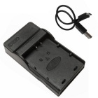 Ismartdigi LPE10 Micro USB Mobile Camera Battery Charger - Black