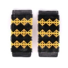 Electric Motorcycle Rider Non-slip Rubber Handlebar Covers - Yellow