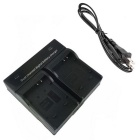 EL12 Digital Camera Battery Dual Charger for Nikon S6100 S9100 P300 S8
