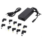 MAIKOU Universal Laptop AC Adapter w/ 10 Connectors - Black