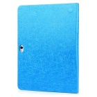 Oracle Bone Pattern Protective PU Case for HUAWEI M2-A10L - Blue