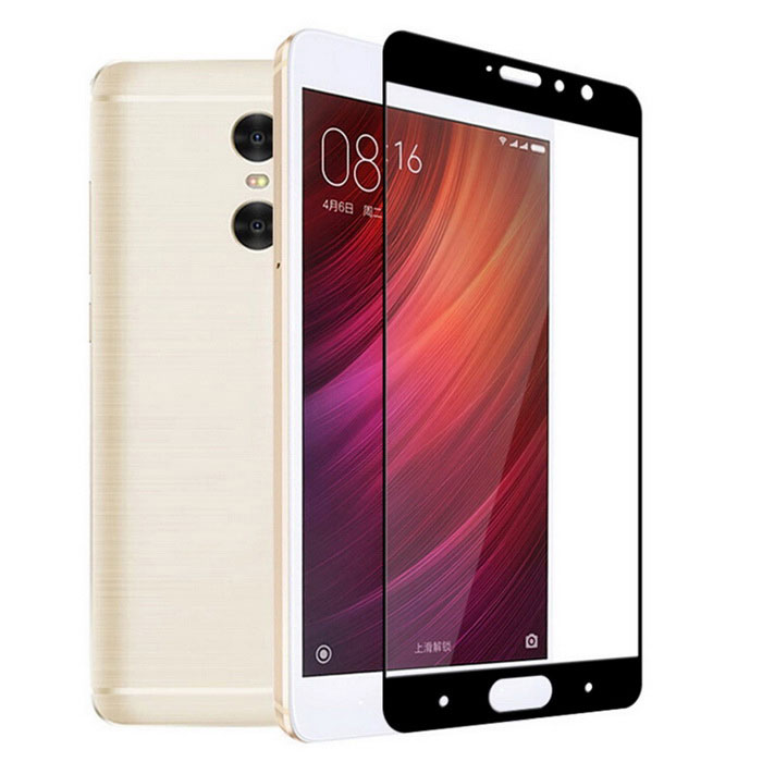 9H Tempered Full Screen Film Glass for Xiaomi Redmi Pro - Black