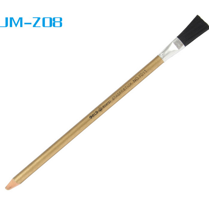 JAKEMY JM-Z08 Rust / Glue Removing Cleaning Brush Pen - Gold + Black