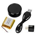 LANGMAO LM102 Personal Mini GPS Trackers Locator for Kids - Black