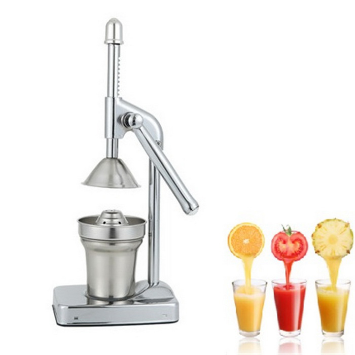 Stainless Steel Fruit Pomegranate Juice Extractor - Silver