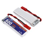 OCDAY 3.7V 500mAh 25C 1S1P Battery & Charger for UDI U818A / U815