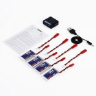 OCDAY 3.7V 750mAh 25C 1S1P 4-Battery + Charger for MJX X400 + More