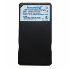 Ismartdigi Li90B Micro USB Camera Battery Charger for Olympus - Black