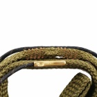 Rifle Snake Style Bore Cleaner pour .38 Cal .357 Cal .380 Cal & 9mm