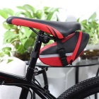 Cauda B-SOUL Ciclismo Mountain Bike Saddle Bag - vermelho + preto