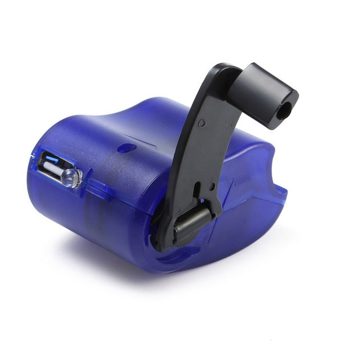Hand-cranked Manual USB Emergency Charger