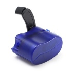 Hand-cranked Manual USB Emergency Charger - Blue