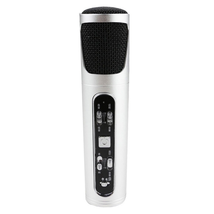 Mini Condenser Professional Microphone for Mobile Phone Karaoke