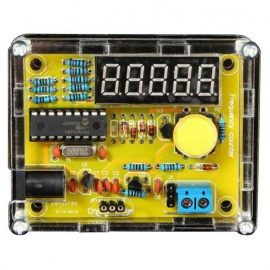 DIY Frequency Tester 1Hz~50MHz Crystal Counter Meter w/ Housing Kit