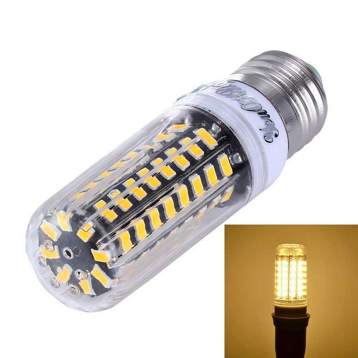 YouOKLight Dimming E27 10W 72-SMD 5733 Warm White LED Corn Bulb
