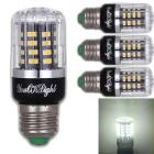 YouOKLight E27 3W 40 SMD-5736 LED Cool White Corn Bulb (85-265V,4 PCS)