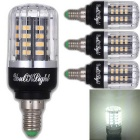 YouOKLight E14 3W 40 SMD-5736 LED Cool White Corn Bulbs (4Pcs)