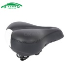 Road Bike Big Hollow Saddle Seat Mat MTB Deler - Sort + Hvit