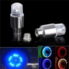Car Motorcycle Valve Tyre Cap Wheel Flash LED Light