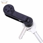 EDCGEAR Travel Portable Durable Keytainer Key Holder - Black