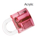 Acrylic Fine Locksmith Tool Set - Translucent Red + Blue