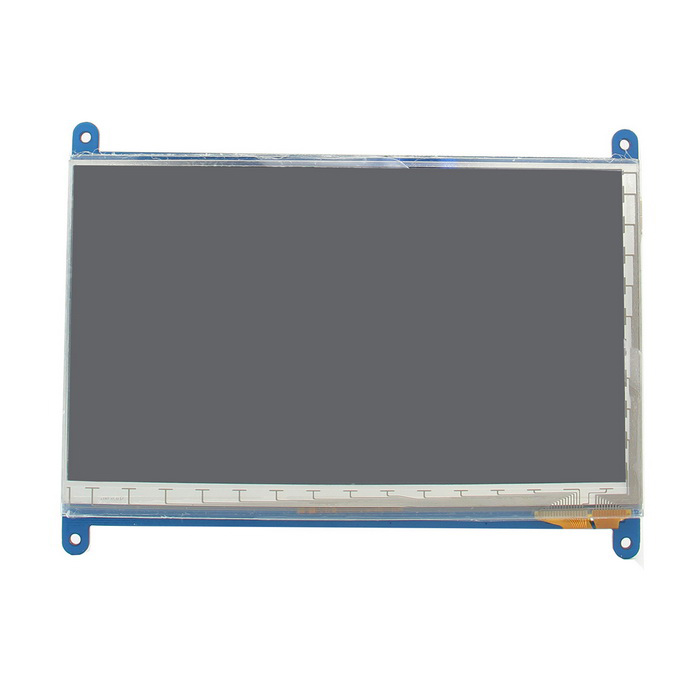 7 HDMI Capacitive IPS Display LCD for Raspberry Pi (800 * 480)Raspberry Pi<br>Form ColorWhite + Light Blue + Multi-ColoredModelN/AQuantity1 DX.PCM.Model.AttributeModel.UnitMaterialpcb+Electronic componentEnglish Manual / SpecNoDownload Link   http://www.raspberrypiwiki.com/index.php/7_inch_HDMI_IPS_Capacitive_Touch_Screen_1024x600Other FeaturesThe matching stander sku:427547Packing List1 * Capacitive touch screen1 * HDMI Cable (cable length: 21.5cm)1 * USB Cable (cable length: 35.5cm)<br>