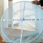 Dome Ceiling Mosquito Net / Bed Curtain - Light Blue