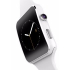 X6 Arc Touch Screen Smart Watch w/ 1.54 inch IPS - White