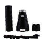 KINFIRE XHP-50 LED 2000lm Dimming Diving Flashlight - Black (2*26650)