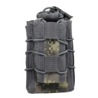 Outdoor Hunting Small Pistol Rifle Cartridge Bag - ACU Camouflage