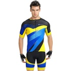 NUCKILY High Quality Cycling Short-Sleeve Jersey + Short Pants
