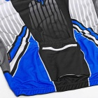 NUCKILY Men's Short-Sleeves de manga curta Jersey + Short Pants Set - Azul