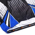 NUCKILY Men's Cycling Short-Sleeves Jersey + Short Pants Set - Blue