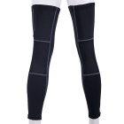 NUCKILY High Elastic Sunscreen Leg Warmers - Black (M / Pair)