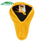CARKING MTB Bicycle Mountain Road Seat 3D Pad Saddle Cover - Yellow