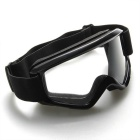 Motocross Motorcycle Enduro Off-Road Hemlet Windproof Glasses Goggles - Black