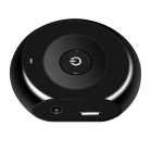 Portable Wireless Multi-point Bluetooth Audio Transmitter - Black